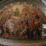 teto sobre o altar