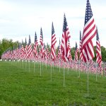 Flags of Valor on Art Hill