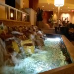 Waterfall in bar.