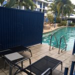 Swim out sun lounges