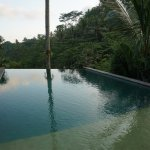 Infinity pool - our villa was to the left of this view.