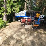 Our campsite, Icicle River RV Resort