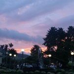 Downtown La Fortuna at Sunset