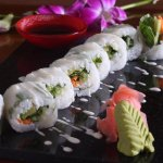 Large Selection of Freshly Prepared Sushi - Evenings at The View Lounge - Moevenpick Hotel Al Kh