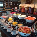 Lavish Moevenpick Breakfast Buffet - The View Lounge - Penthouse Floor - Moevenpick Hotel Al Kho