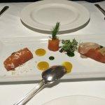 Smoke Salmon appetizer