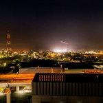 北九州工場夜景(11階・12階北側客室より)