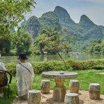 Enjoying the view - Yangshuo Mountain Retreat - Guilin Yangshuo China
