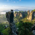 Nationaal park Sächsische Schweiz (foto van Philipp Ziegler)
