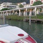 Lauschiges Gartenrestaurant direkt am Wasser