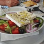 Seriously good greek salad