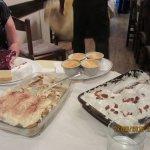 Some of the Anacapri's desserts