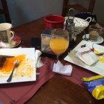 Quedo poco después de desayunar..