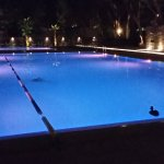 piscine di notte
