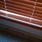 broken slat and non-functional blinds