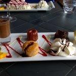 Assiette gourmande dessert