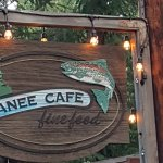 Kokanee Cafe at Camp Sherman located in Central Oregon.