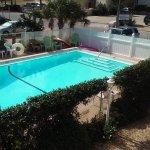 Side pool view