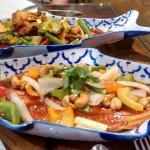 Crispy Fish in Tamarind sauce
