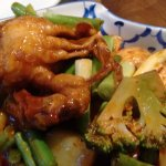 Soft Shell crab in Chili oil
