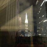 Empire State Building from the room