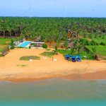 Aerial View Dolphin Beach Resort