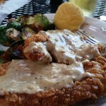 Pork Cutlet Special with Brussel Sprouts