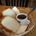 GREAT bread and meat sauce topping is served with your meal. Funny, friendly staff. Shared BLT a