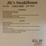JK's Steakhouse