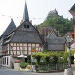 Bacharach Städtchen mit Stahleckburg