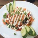 Hot Smoked Salad