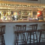 Welcoming bar area