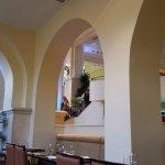 Inside of Azul restaurant