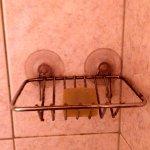 Savon pour la douche déjà utilisé, mmmm ça donne envie.
