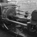 pistons on the steam engine
