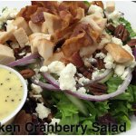 Chicken Crandberry Salad