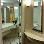 Bathroom and exterior vanity