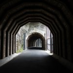 East side of Mosier Twin tunnel, Mosier, OR