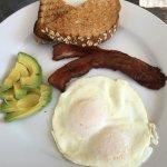 Custom light breakfast