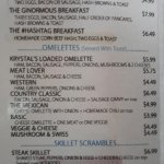 Menu Page (Omelettes)