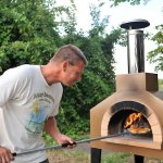 Pizza made in wood fired oven for appetizers at Inn Serendipity