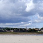 View of Berwick-Upon-Tweed from Spittle beach