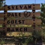 Entrance to Sylvan Dale Guest Ranch