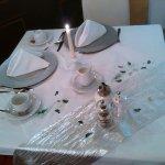Frühstückstisch am Geburtstag