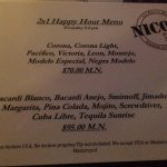 Foto de Nico's Oceanfront Caribbean Grill