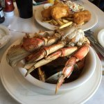 Cracked Crab Foto