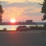 Sunset at Rondeau Bay