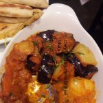 this isn't brinjal bhaji even though that is what menu says