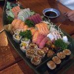 Delícia de combinado ,sashimi especial!