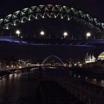 This is night from swing bridge east